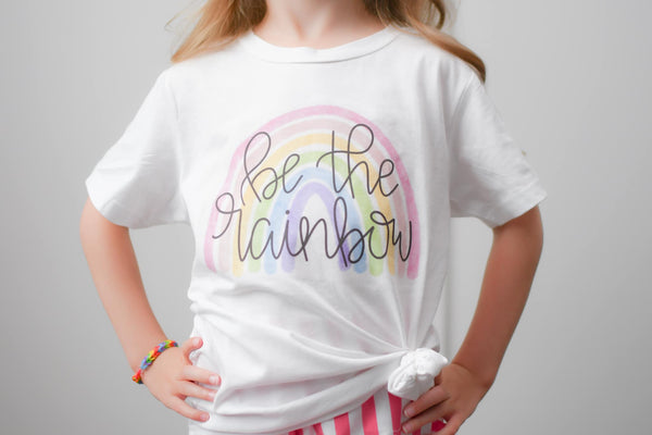 Be the rainbow - Graphic Tee