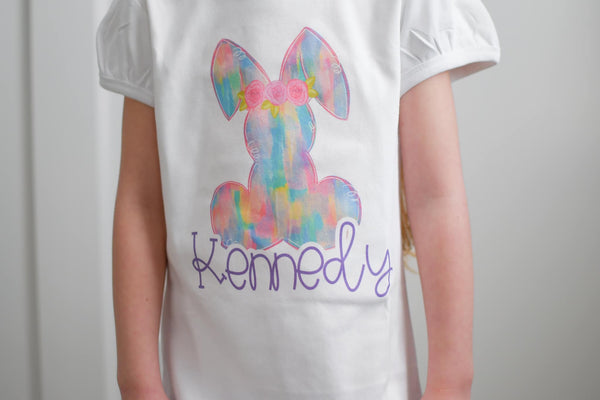 Colorful Bunny - Graphic Tee
