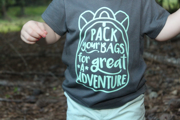 Pack your bags for a Great Adventure - Everyday Tee