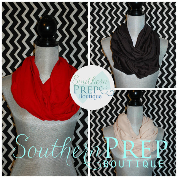 Infinity Chevron Scarf - Available with monogram as well (See other listing)