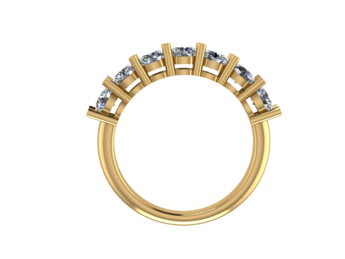 2.7mm Diamond Band