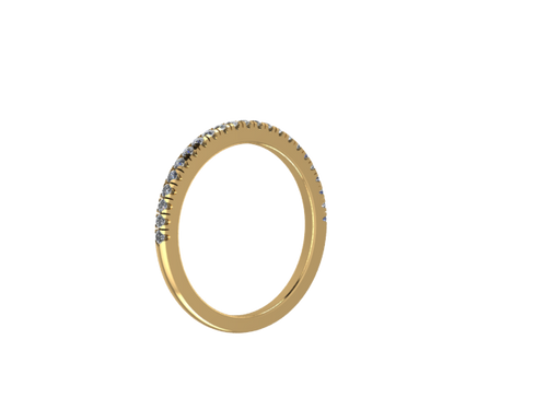 1.4mm Diamond Band
