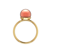 P1002 - Pearl Solitaire Ring