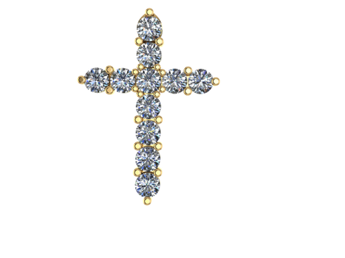 C1102 - 3.5 mm Cross Charm