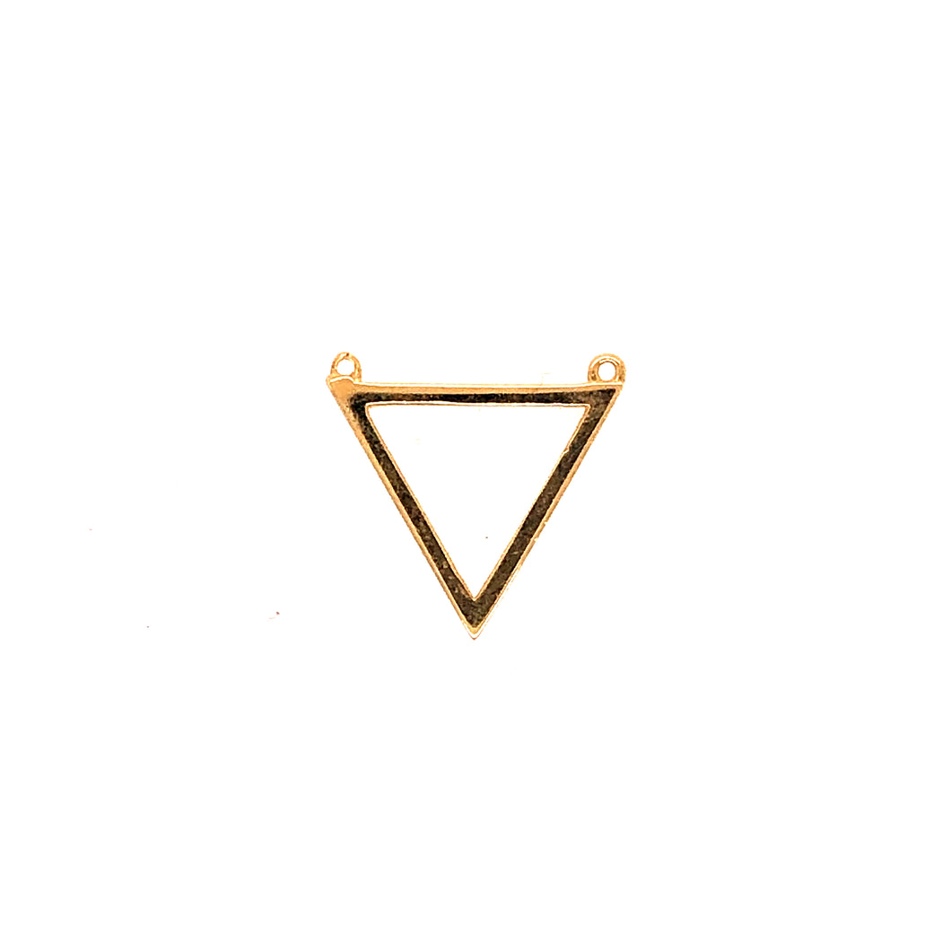 C4001 - No Stone Triangle Charm