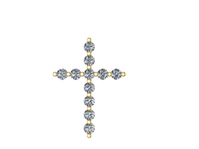 C1104 - Cross Pendant
