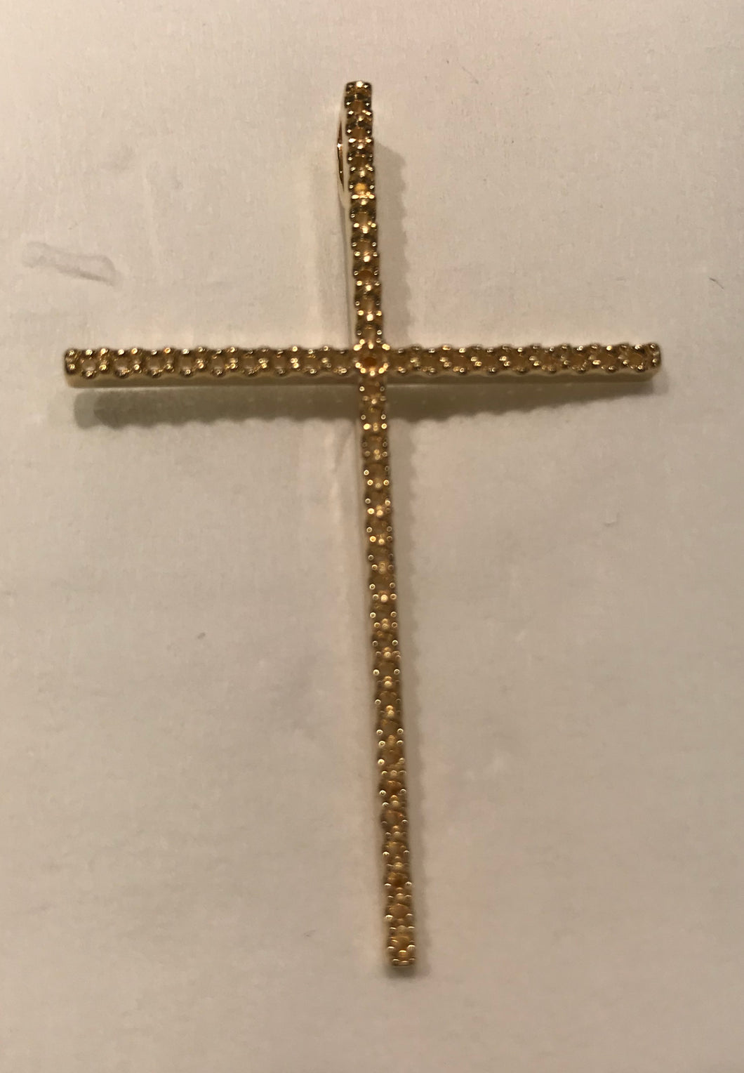 C1119 - Cross Charm ( 1.2 mm x 47 pcs )