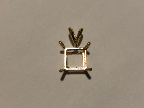 S2004 - Princess Double Wire Pendant