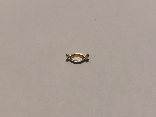 S6002 - 2-P Marquise Single Wire Setting