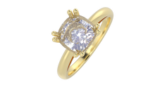 R2001 - Cushion Solitaire Ring