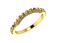 R1109 - Halo Ring w/  Matching Band