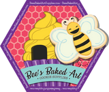Clough'd 9 Cookies | Bee's Baked Art Supplies and Artfully Designed Creations