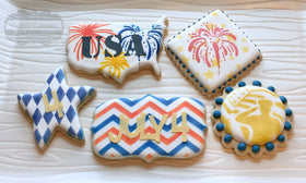 Fireworks argyle double chevron w