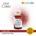 Coral Red Holicakes Airbrush Color by Dripcolor