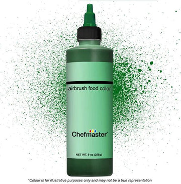 Dark Green Chefmaster Airbrush Color