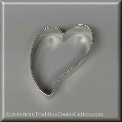 Cookie Cutter Folk Heart 3""