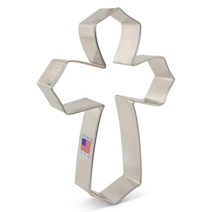 "Tunde's Cookie Cutter Large Cross 4 x 5 1/4"" Ann Clark"