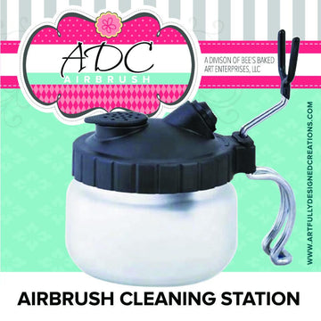 Airbrush Cleaning Station by Artfully Designed Creations