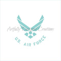 Air Force Stencil