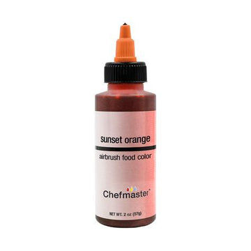 Sunset Orange Chefmaster Airbrush Color