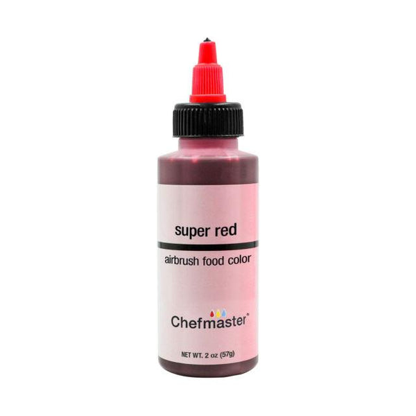 Super Red Chefmaster Airbrush Color