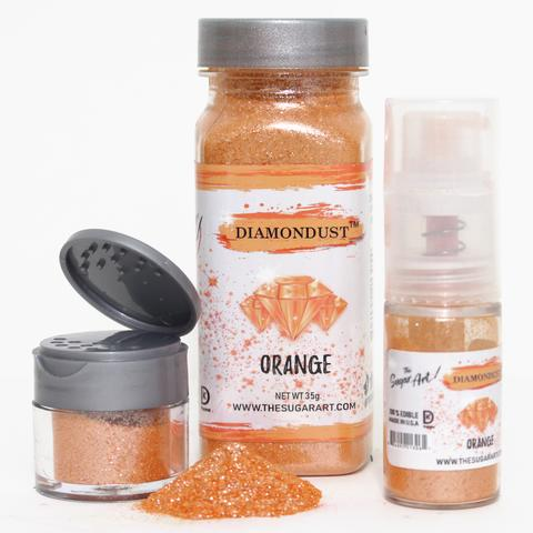 Orange Diamond Dust by The Sugar Art 3 gm
