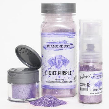 Light Purple Diamond Dust by The Sugar Art 3 gm