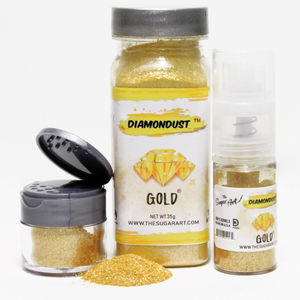 Gold Diamond Dust by The Sugar Art 3 gm