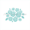 Flower Arrangement Stencil