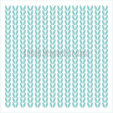 Knit Pattern 1 Stencil Background