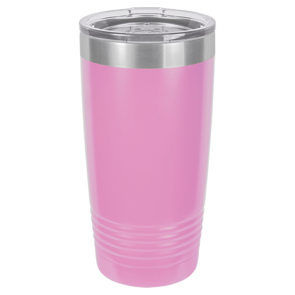 Custom Printed 20 oz Polar Camel Tumbler with Clear Lid