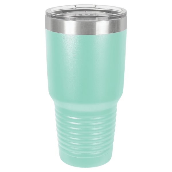 Laser Engraved 30 Oz Polar Camel Tumbler with Clear Lid