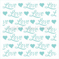 Love Background Stencil Background
