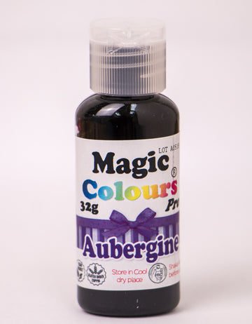 Magic Colours Pro Gel Color 32g - Aubergine