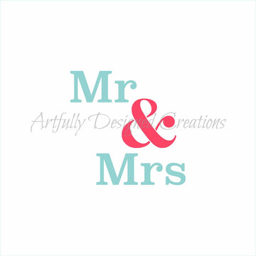 Mr and Mrs Stencil