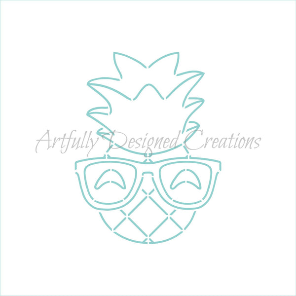 PYO Pineapple Stencil