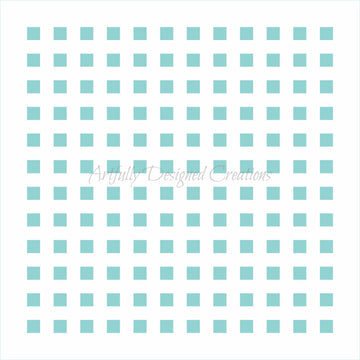 Small Squares Sprinkle Swipes