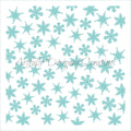 Snowflake Background Stencil Background