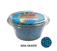 "Glitter Pearls ""Perlas Diamantadas"" 100 gm - Light Blue"