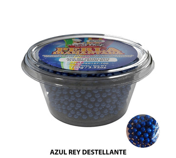 "Glitter Pearls ""Perlas Diamantadas"" 100 gm - Flashing Royal Blue"