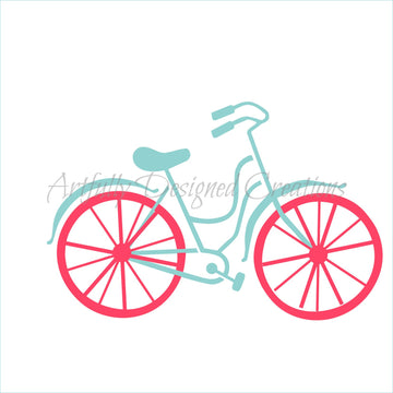 Blyss Bicycle Double Stencil