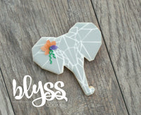 Cookie Cutter Blyss Elephant Face by TMP