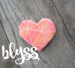 Cookie Cutter Blyss Heart Geo by TMP