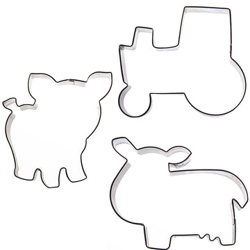 Sweet Elite Farm Cookie Cutter Set by Autumn Carpenter