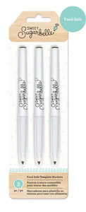 Sweet Sugarbelle Black Edible Food Pens - 3 Pack