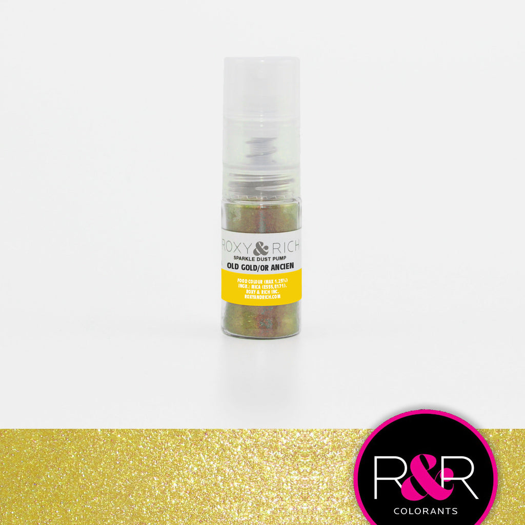 Old Gold Sparkle Dust Pump by Roxy & Rich 4g