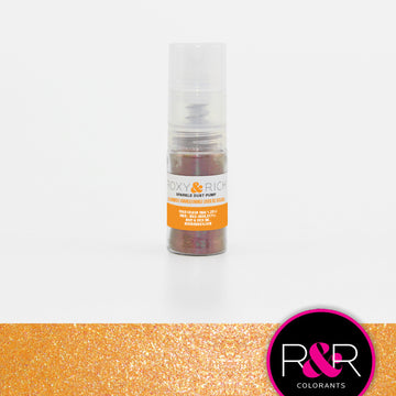 Sunrise Orange Sparkle Dust Pump by Roxy & Rich 4g
