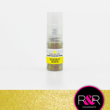 Canary Yellow Sparkle Dust Pump by Roxy & Rich 4g