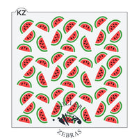 Watermelon 3 Piece Stencil by Killer Zebras