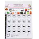 Sweet Elite Halloween and Fall Pattern Sheets by Autumn Carpenter